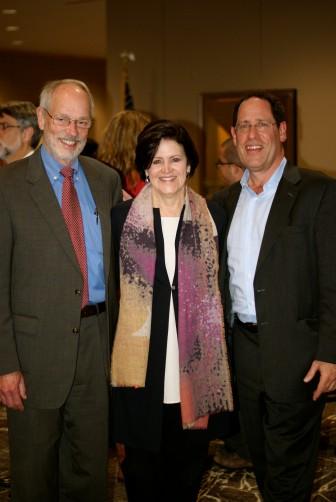 Max Michael, Ann Florie, Bruce Katz at Birmingham event Credit: Leadership Birmingham