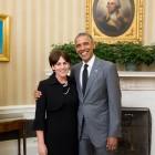 Alabama Teacher of the Year Ann Marie Corgill with President Obama.