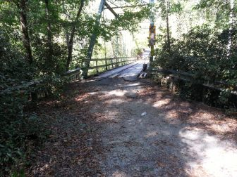 Old, closed bridge on Cahaba Beach Road. Photo Credit: Hank Black