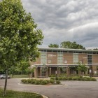 Oliver Elementary School: New building, shelves of books, struggling test scores