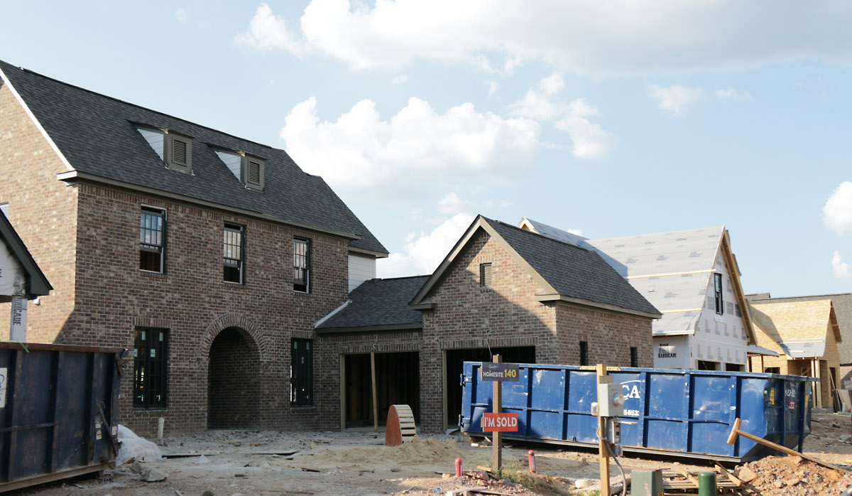 How much is too much new construction? Photo: Marvin Gentry